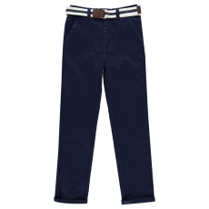 Crafted Belted Chinos
