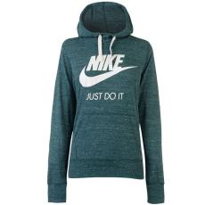 Nike női kapucnis pulóver - Nike Vintage Hoody- zöld