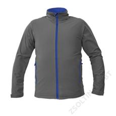 Cerva NAMSEN softshell kabát, szürke
