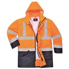 Portwest S768 Jól láthatósági 5 az 1-ben kabát *NARANCS-TENGERÉSZKÉK*