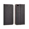 TOPTEL Kabura Vennus Samsung Galaxy S8 oldalra nyíló tok kerettel, fekete