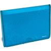 PANTA PLAST Harmonikamappa, A4, 6 részes, PP, gumis, PANTA PLAST Tai Chi, kék (INP0410007703)