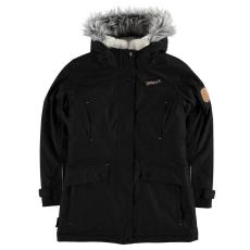 Gelert gyerek kabát - Gelert Siberian Parker Juniors Black