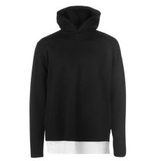 Firetrap Pique Layer férfi kapucnis pulóver fekete M