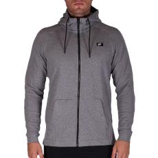 Nike Mens Nike Sportswear Modern Hoodie férfi kapucnis cipzáras pulóver szürke XL