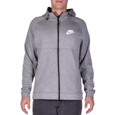 Nike M Nsw Av15 Hoodie Fz Flc férfi kapucnis cipzáras pulóver szürke XXL