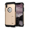 Spigen Slim Armor Apple iPhone X Champagne Gold hátlap tok