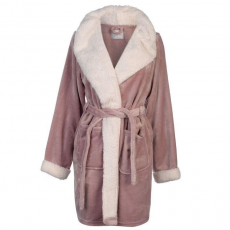 Rock and Rags női köntös - Rock and Rags Luxury Borg Robe Rose