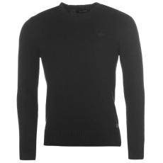 Firetrap Europa férfi kötött pulóver fekete S