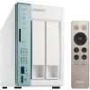 QNAP TS-251A-2G (NAS, 2HDD hely, SATA, CPU: Celeron 2.48Ghz, RAM: 2GB, 2x RJ-45, 3x USB3.0, HDMI)