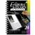 Képkarcoló könyv, 12 különböző képpel, karctűvel - 15x20 cm - Album formátum - Híres helyek