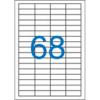 Nebuló Etikett, univerzális, 48,5x16,9 mm, VICTORIA, 6800 etikett/csomag