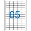 Nebuló Etikett, univerzális, 38x21,2 mm, VICTORIA, 6500 etikett/csomag
