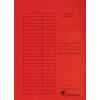 Nebuló Gyorsfűző, karton, A4, VICTORIA, piros