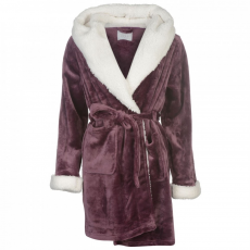 Rock and Rags Luxury Borg Robe