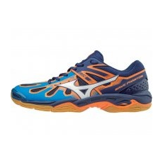 Mizuno Mizuno Wave Phantom/DirBlue/Wht/BlueDepths/45.0/10.5 teremcipő