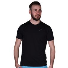 Nike Dri-fit Contour férfi póló fekete M
