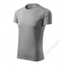 ADLER Replay/Viper ADLER pólók férfi, sötétszürke melírozott