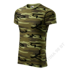 ADLER Camouflage ADLER pólók unisex, terepszín zöld