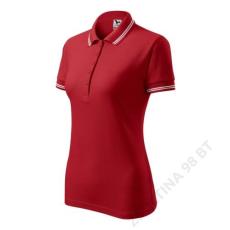 ADLER Urban ADLER galléros póló női, piros