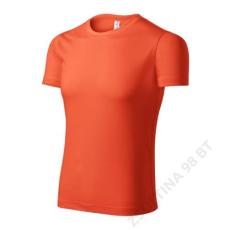 ADLER Pixel PICCOLIO pólók unisex, neon orange