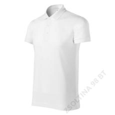 ADLER Joy PICCOLIO galléros póló férfi, fehér