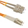 SC/UPC - SC/UPC MM 50/125 OM3 LSOH DLX Optikai Patch kábel 2 méter (OPC-SCSC-OM3-2M)
