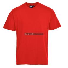 Portwest B195 Torinó prémium póló (piros)