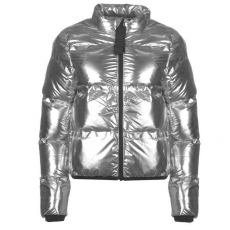 Everlast női dzseki - Everlast Bubble Bomber Jacket Ladies Silver