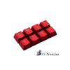Kingston HyperX FPS és Moba piros gamer billentyűk