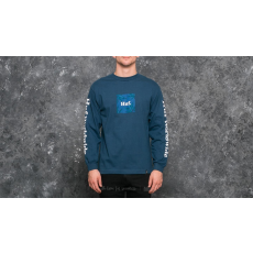 HUF Apparel T-Shirt PLP L/S Label Tee Twilight