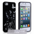 YouSave Accessories iPhone 5/5s/SE Butterfly IMD Case - Black/Silver