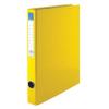 Nebuló Gyűrűs könyv, 4 gyűrű, 35 mm, A4, PP/karton, VICTORIA, sárga