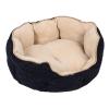 GeoP Cozy Kingdom puha ágy macskáknak, kisebb kutyáknak - H 60 x Sz 55 cm x 22 cm