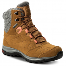 Salomon Bakancs SALOMON - Ellipse Winter Gtx GORE-TEX 398549 20 V0 Rawhide Ltr/Rawhide Ltr/Living Coral