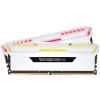 Corsair DDR4 16GB 3000MHz Corsair Vengeance RGB White CL16 KIT2