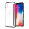 Spigen Neo Hybrid Crystal Apple iPhone X Gunmetal hátlap tok