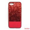 CELLECT design tok, iPhone 7/8 Plus,csillogó piros