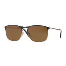 Persol PO7359 107057 MATTE BLACK/GOLD POLAR BROWN napszemüveg