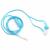 Omega Mikrofonos Fejhallgató Omega Freestyle FH1020N Kék