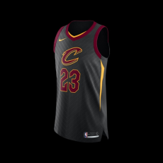 Nike Cleveland Cavaliers Lebron James NBA Statement Authentic Jersey