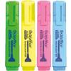 FLEXOFFICE Szövegkiemelő, 4,0 mm, FLEXOFFICE HL05, 4 különböző szín (FOHL05V4)