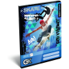 LizzyCard Füzet tűzött A/5 sima GEO Xtreme Skate 17511704