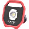 EXTOL LIGHT EXTOL LIGHT hordozható LED lámpa, elemes reflektor, 10W , 1200 Lm, IP54, 0,67 kg