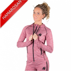 SHAWNEE ZIPPED HOODIE - MIXED RED (MIXED RED) [S]