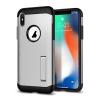 Spigen Slim Armor Apple iPhone X Satin Silver hátlap tok