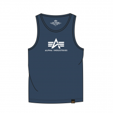 Alpha Industries Logo Tank - replica blue