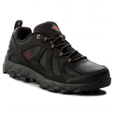 Columbia Bakancs COLUMBIA - Peakfreak Xcrsn II Low Leather Outdry BM1759 Black/Super Sonic 010