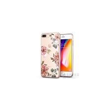 Spigen SGP Liquid Crystal Apple iPhone 8 Plus/7 Plus Aquarelle Rose hátlap tok tok és táska