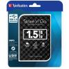 Verbatim External HDD Verbatim Store 'n' Go 2.5'' GEN 2; 1;5TB USB3; Black